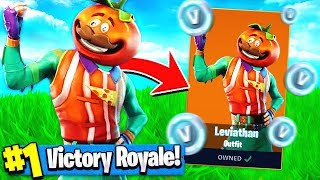 *NEW* TOMATO HEAD SKIN Gameplay!! ( Fortnite Skins Update )