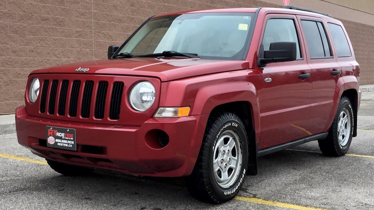 2009 jeep patriot tire size