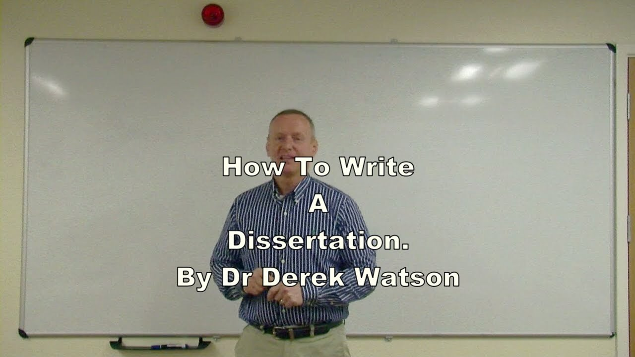 how to write a dissertation for undergraduate