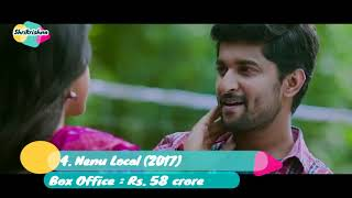 Top 10 Best Movies Of Nani | Highest Grossing Movie List | All Movie List |