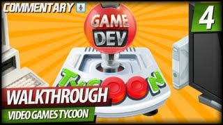 Game Dev Tycoon Walkthrough Gameplay PART 4 | v1.3.5 & Good Genre/Topic Combinations (Commentary)
