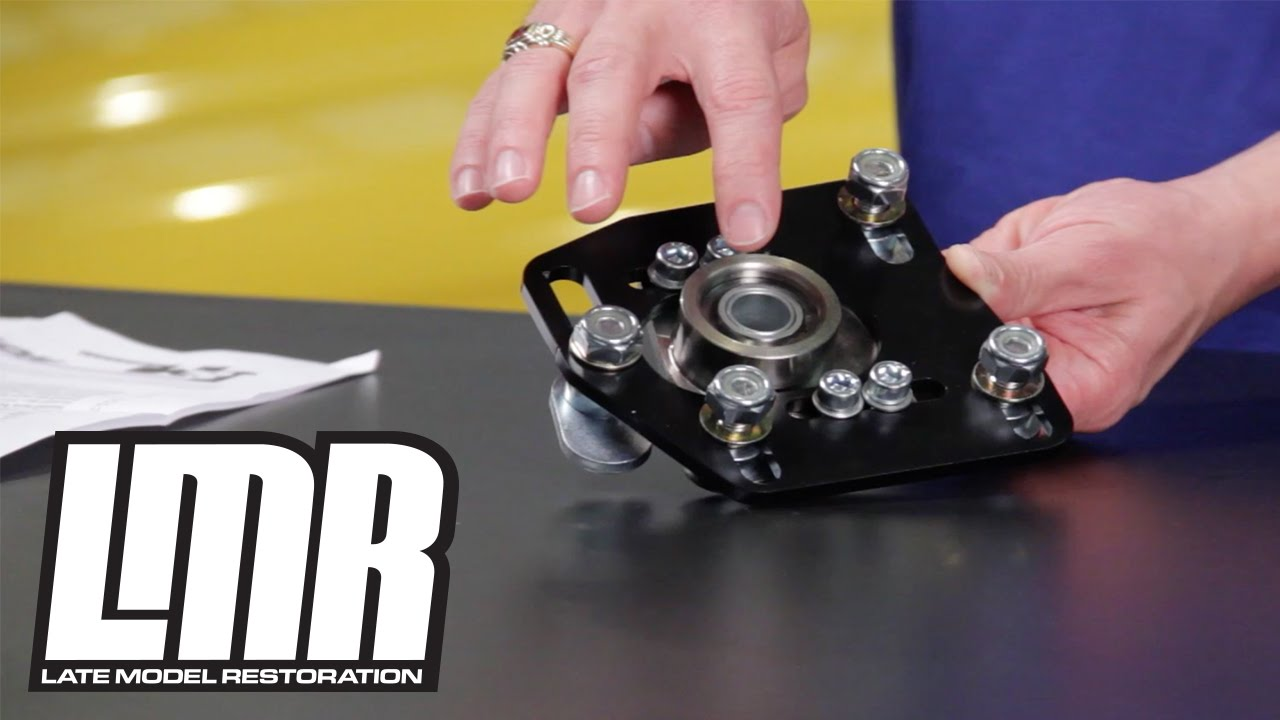 J Amp M Mustang Caster Camber Plates Installation 94 04 Sn95 Amp New Edge Youtube
