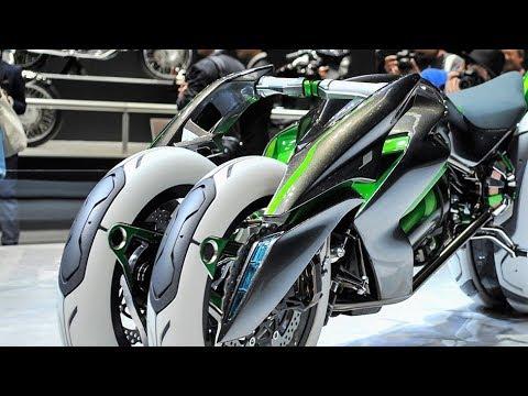 Kawasaki J Concept Three Wheeled 2018 - YouTube