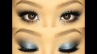 How To:ColourPop Eyeshadows Tutorial♡Wet Eyes Effect