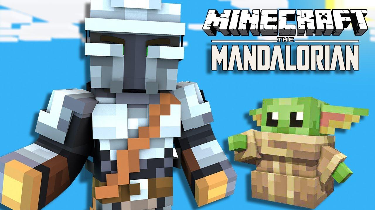 Minecraft Mandalorian Mod Showcase (DATAPACK) - YouTube