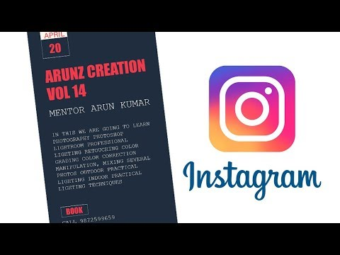 Creating Instagram Story in Photoshop