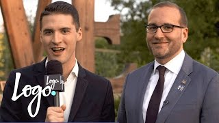 Chad Griffin Urges LGBTQ Voters to Show Up & Make the Difference | Election 2016 | Logo
