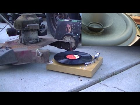 Crosley Component Turn Table Overview and EOL CR6012A