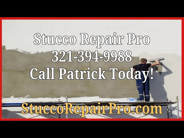Stucco Repair in Titusville On Buckling Stucco And Why Stucco Failed.