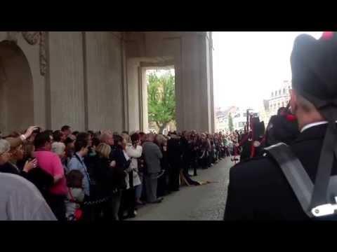 Abertillery Ladies Choir in Belgium