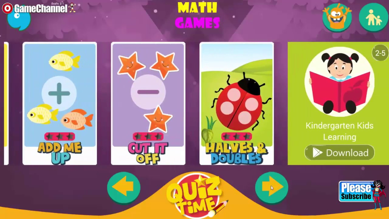 Kids Games Learning Math Pro, Maths Exercises For Kids, Baby ...