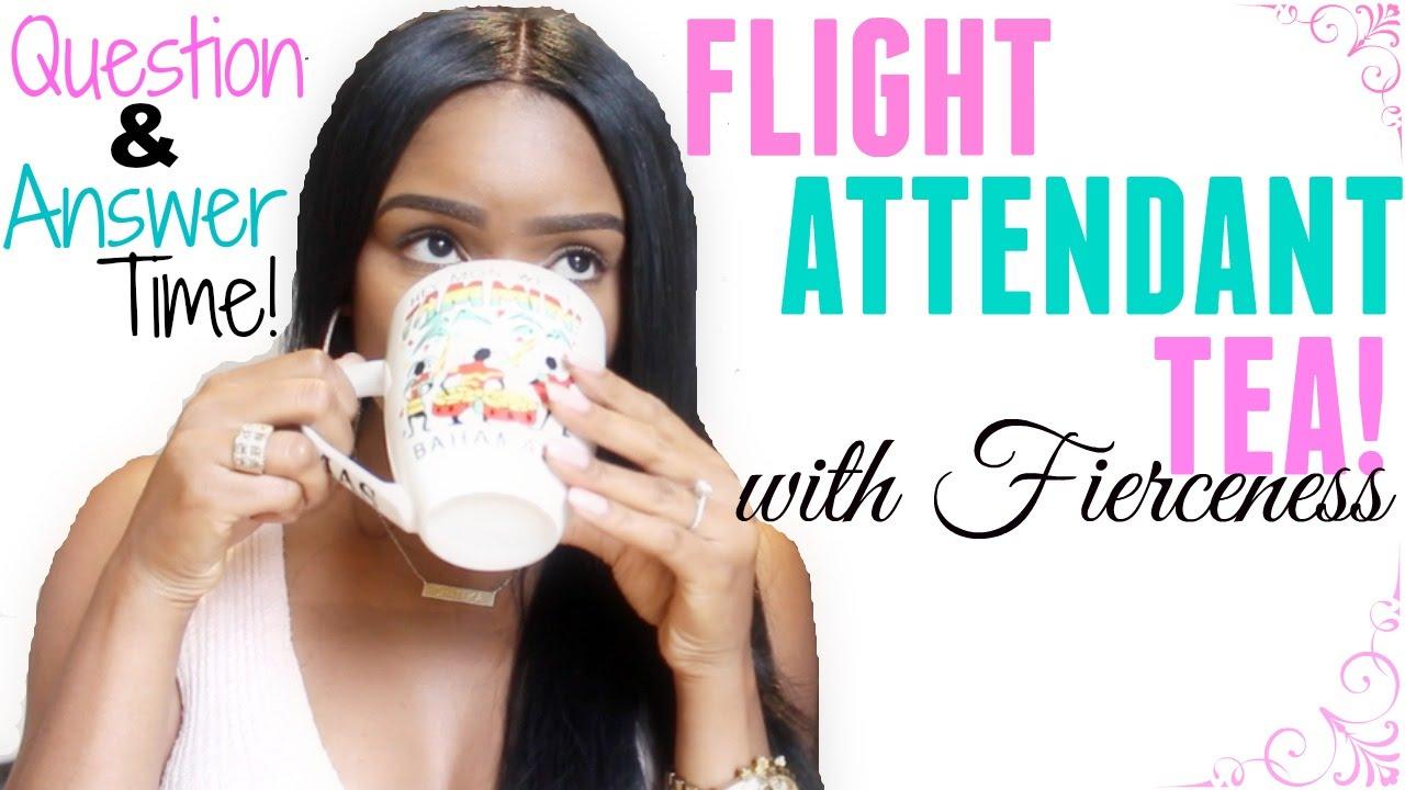 flight attendant tea question answer session flight attendant tea question answer session