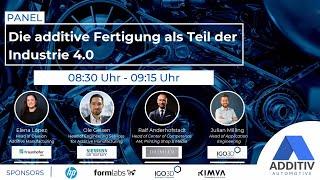 """ADDITIV Automotive: """"Die additive Fertigung als Teil der Industrie 4.0"""""""