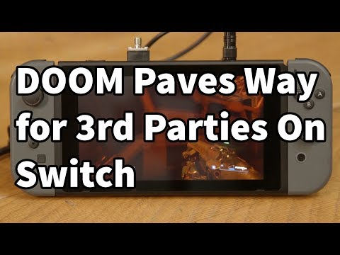 DOOM Switch Gameplay Impresses, Paves Way Forward for 3rd Parties