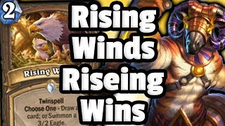 Rising Winds Quest Druid Is Bonkers - Hearthstone Descent of Dragons
