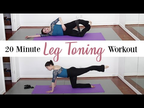 20 Minute At Home Leg Toning & Strengthening Workout | Kathryn Morgan