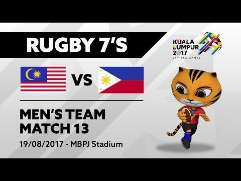 KL2017 29th SEA Games | Men's Rugby 7's - MAS 🇲🇾 vs PHI 🇵🇭