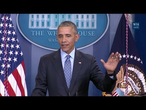 President Obama Holds his Final Press...