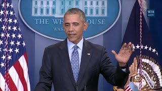 President Obama Holds his Final Press Conference by : Obama White House