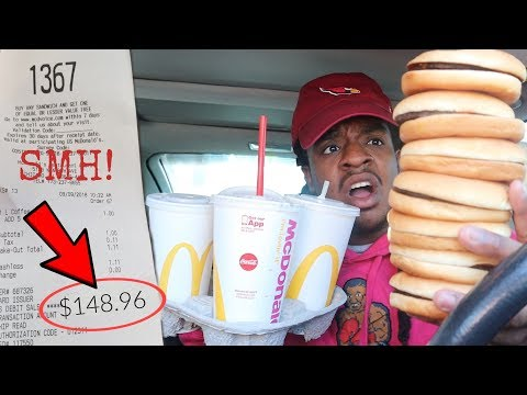 Letting The Person IN FRONT Of Me DECIDE What I Eat For 24 HOURS!! (bad idea)