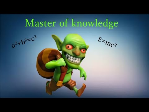 Clash of Clans⎪Goblin knowledge