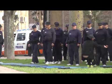 Entrenamiento policía local