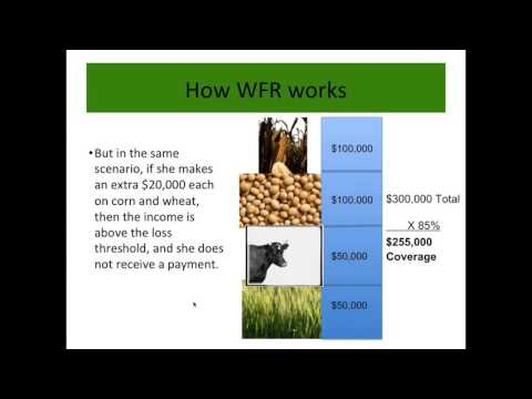 For producers: Whole Farm Revenue Protection for commodity operations