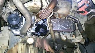 Remplacement vanne EGR  Sur  VW CADDY 1.6 TDi