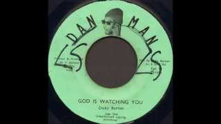 Dicky Burton ‎- God Is Watching You
