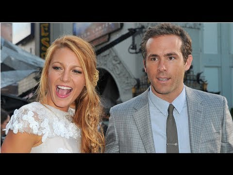 Blake Lively And Ryan Reynolds Wedding Details The Dress Rings You