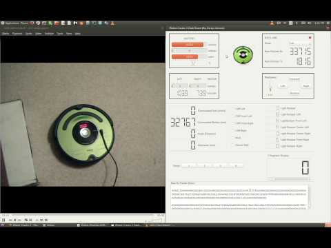 Dashboard Software for iRobot 'Create 2' Roomba