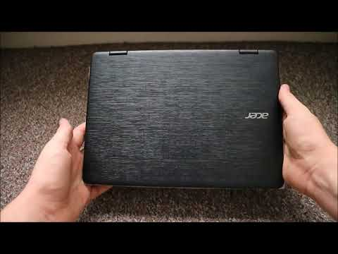 Acer Spin 1 SP111 31 M16W2 Unboxing (720p50fps)