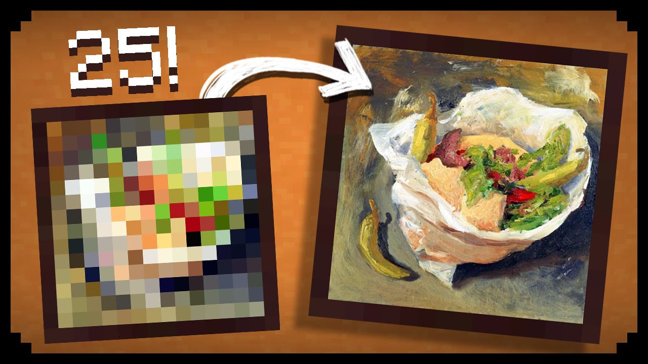 How To Make A Painting Look Pixelated