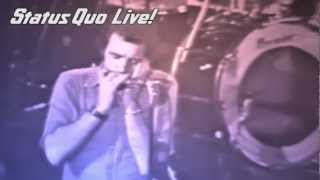 Status Quo Roadhouse Blues Glasgow 1976