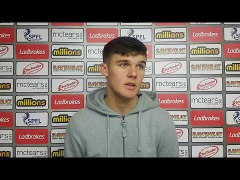 Reece Lyon: Ayr United Under-20s post-match