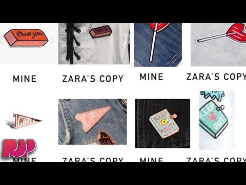 ZARA Steals Indie Artists Design, Says She's Not Important Enough