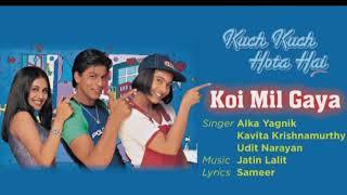 Gambar cover Koi Mil Gaya   Shah Rukh Khan   Kajol  Rani Mukherjee  Alka Yagnik Udit Narayan Kavita Krishnamurthy