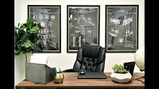 How To: Make Your Own Large Wall Art For Cheap!