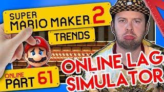 SUPER MARIO MAKER 2 ONLINE 👷 #61: Online Lag Simulator & Ryukahrs Hot Sponge