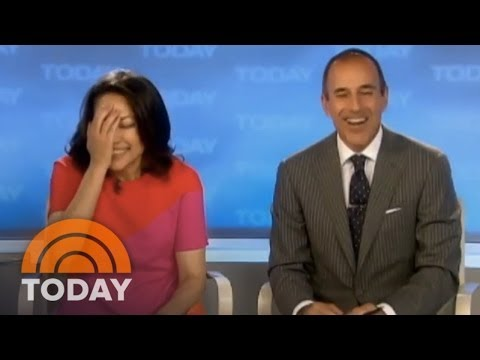 Ann Curry's First Day As Co-Anchor | Archives | TODAY
