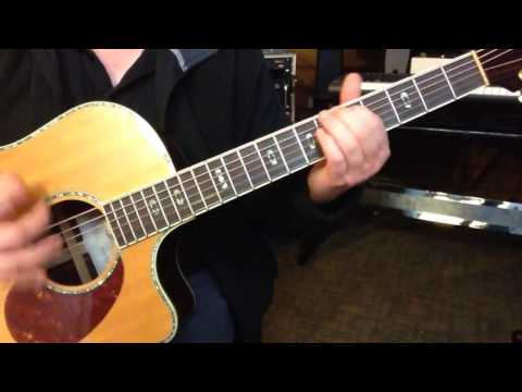 Alternate Tuning EBCGF#E - Key E Harmonic Minor
