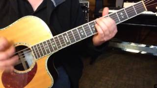 Alternate Tuning EBCGF#E - Key E Harmonic Minor