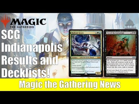 SCG Indianapolis MTG Results and Decklists: New Standard and Modern