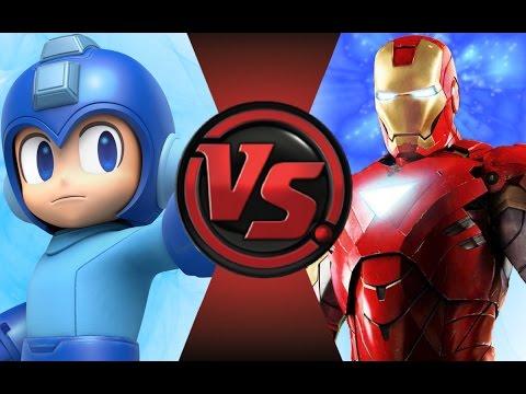 mega man vs iron man cartoon fight club episode 70