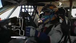 V8 Supercars : Mark Larkham Drives Fabian Coulthard's Commodore (winton 2010)
