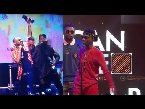 Davido, Tiwa Savage, Olamide, Wizkid win awards at the Soundcity MVPs |  Soundcity MVP Awards 2017