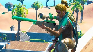 Fortnite - Vega Green - Brown Skin Combos!