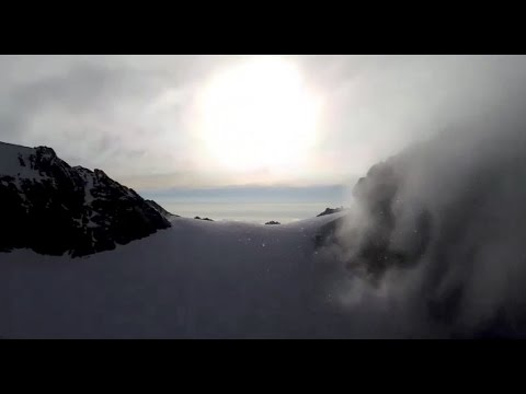 Rwenzori Snow by Helicopter
