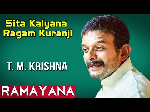 Sita Kalyana Ragam Kuranji | T.M. Krishna | Sangeetha sivakumar (Album: Ramayana)