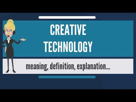 What is CREATIVE TECHNOLOGY? What does CREATIVE TECHNOLOGY mean? CREATIVE TECHNOLOGY meaning